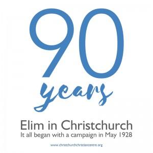 Elim Church Christchurch Dorset 90 Years