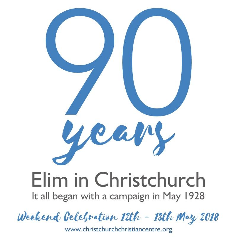 Elim Church Christchurch 90 Years