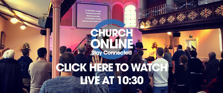 WATCH LIVE at 10:30 Church Online ELIM